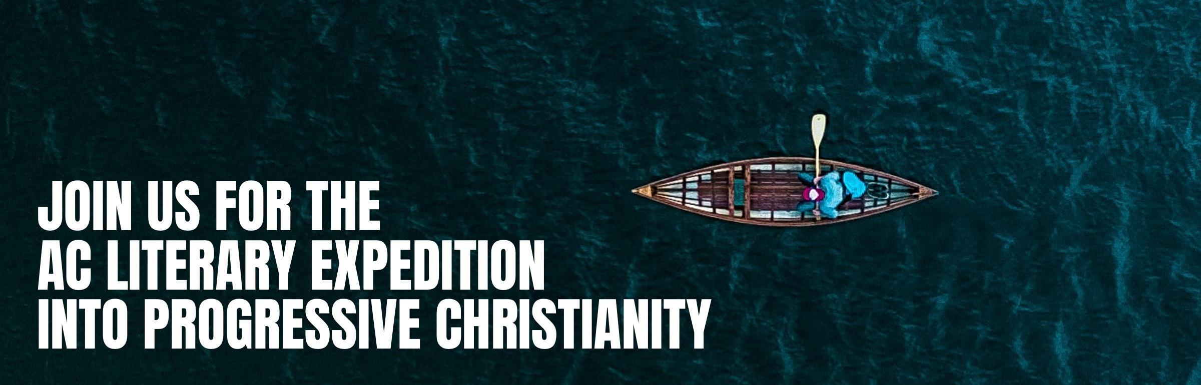 PROGRESIVE CHRISTIANITY - Banner